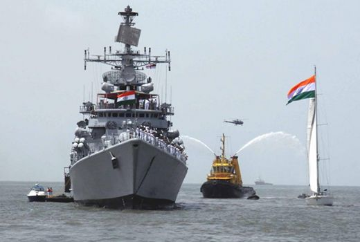 PM Salutes Navy on Navy Day