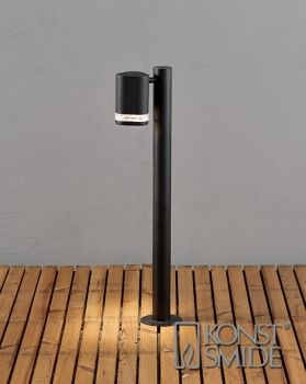 Modena pylväsvalaisin musta Poltin GU10 1 x 35 W Pituus 190mm Korkeus 700mm Leveys 115mm Valmistaja: Konstmide