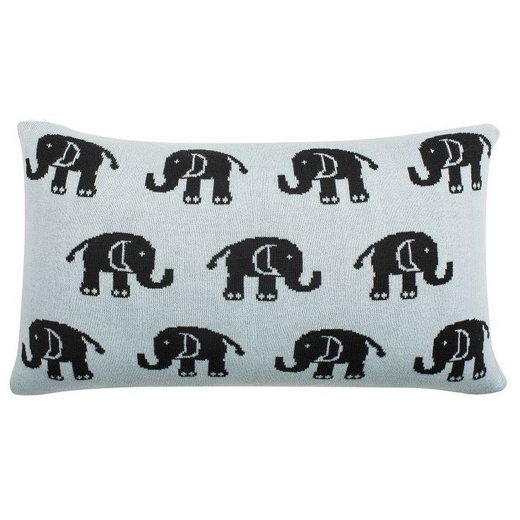 Safavieh Baby Elephant Throw Pillow, Multicolor