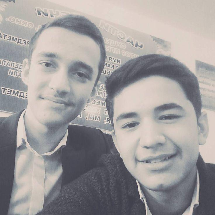 With my friend and bro Islom!  #brothers#friends#classmates#Uzbekistan#Jizakh#code#coder#programmer#programmes#python#javascript#java#delphi#go#ruby#sql#mysql#swift#php#html#css#web#web#software#hack#hacker#hacking#android#windows#ios#like