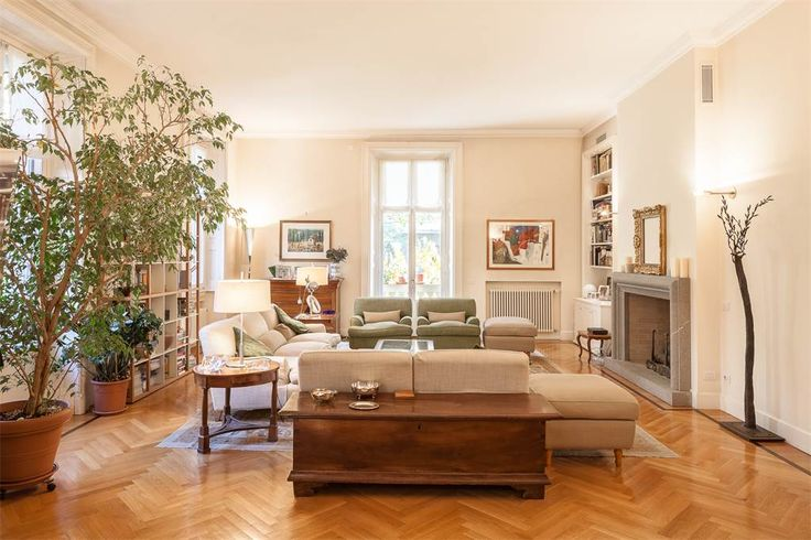 Exquisite apartment of rare elegance with terraces, Milan, Italy – Luxury Home For Sale