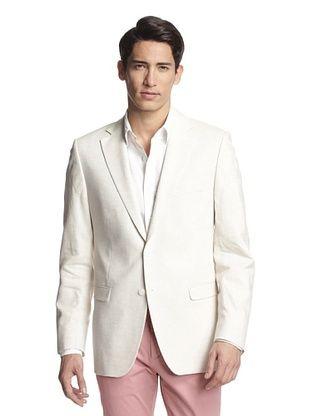 71% OFF Simon Spurr Men's Solid Notch Lapel Sportcoat (Ivory)
