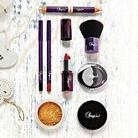 Beautiful makeup collection - looks great in a little hamper with a mirror and some accessories