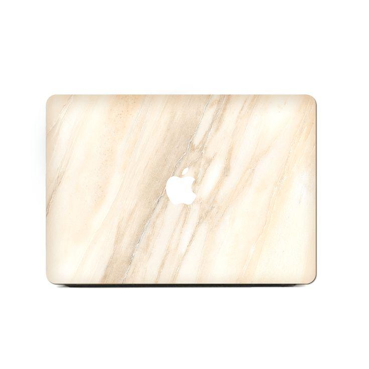MacBook Air Retina 13 Inch Case – Taupe Slash Marble