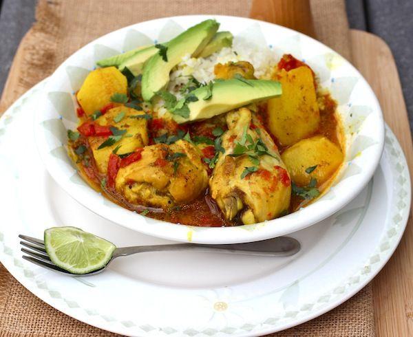 sudado de pollo/colombian chicken stew
