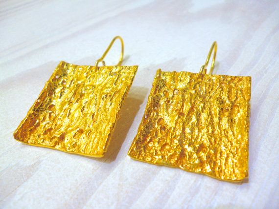 Hey, I found this really awesome Etsy listing at https://www.etsy.com/listing/270812416/rectangle-earrings-nature-earrings
