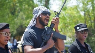 OINK, OINK, BANG, BANG Video: New Black Panthers Had Threatened to 'Creep Up on' Texas Cops 'in the Darkness'  MSM SILENT ON THIS HATE GROUPS' RHETORIC!
