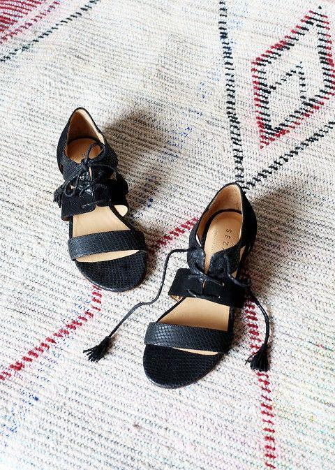 Sézane / Morgane Sézalory - Ulysse sandals -Collection spring 2014 Taroudant www.sezane.com
