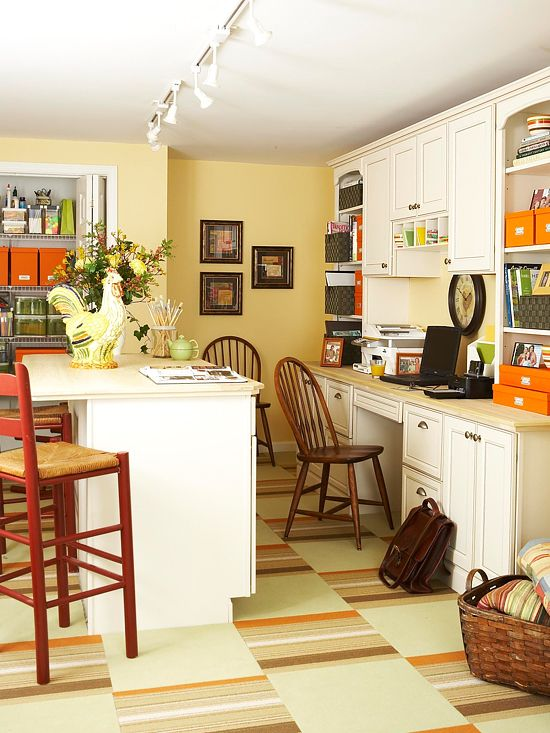 157 best Built In - Desk images on Pinterest   Corner office, Desks ...