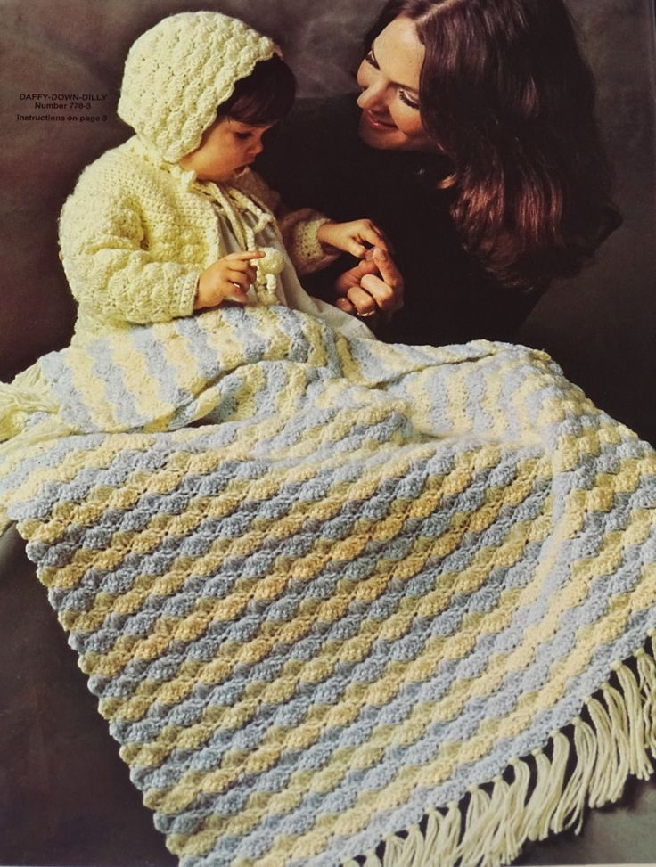 40 Best Vintage Crochet Images On Pinterest Crocheted Baby