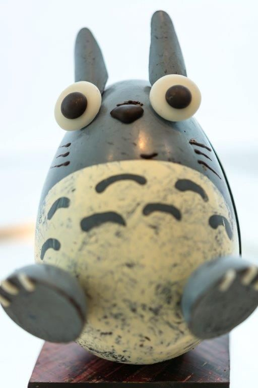 Totoro in chocolate www.gemchocolates.ca