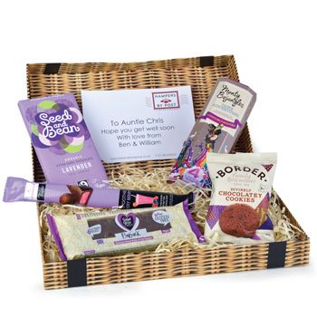 The 25 best gluten free hampers ideas on pinterest easy mince lovely lavender box to uk negle Choice Image