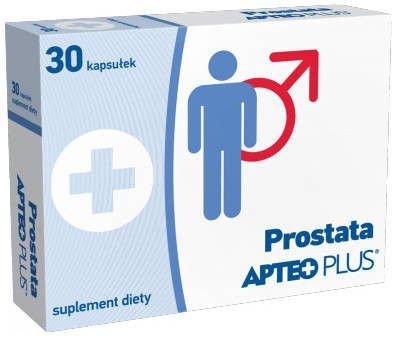 Prostate APTEO PLUS x 30 capsules, linseed oil