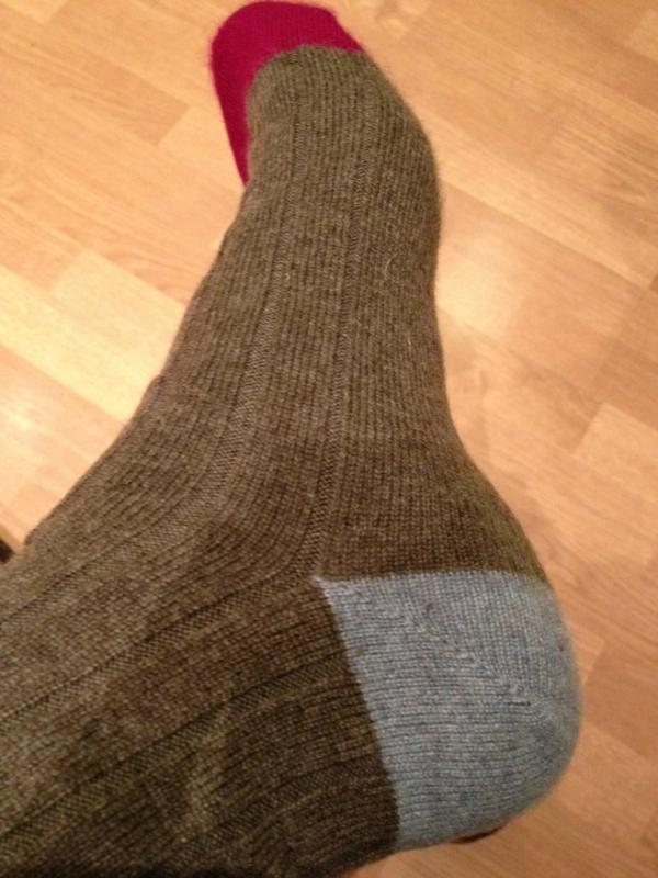 Rob Brydon's new socks. :P