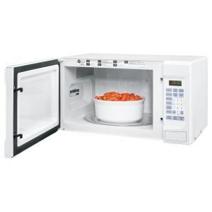 Ge Countertop Microwave Jes1456dsww : ge 1 4 cu ft 1100 watt countertop microwave oven in white countertop ...