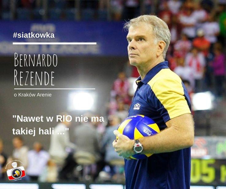 Rezende o Kraków Arenie #archiwum #siatkowka #volleyball