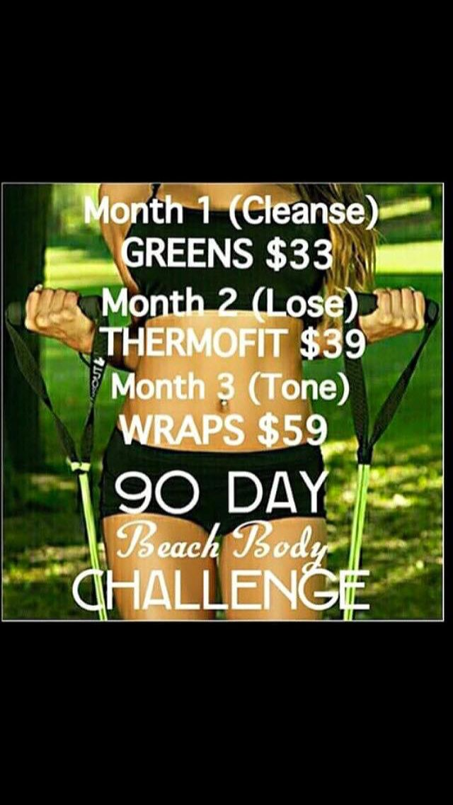 90 challenge ! Adorable and works !! Summer body here we come message for details or visit the website http://itsericasanders.itworksca.com/shop/product/CA306/