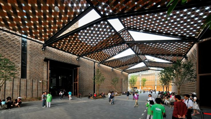 Pavilion 4 resulting from a creative renovation of old factories in Shanghai, China by HMA Architects & Designers