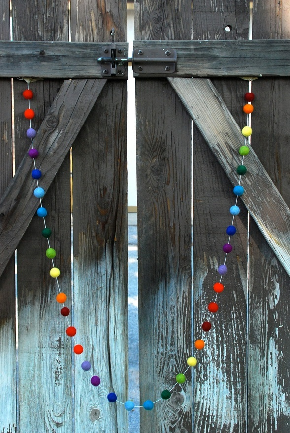 Rainbow Garland #garland