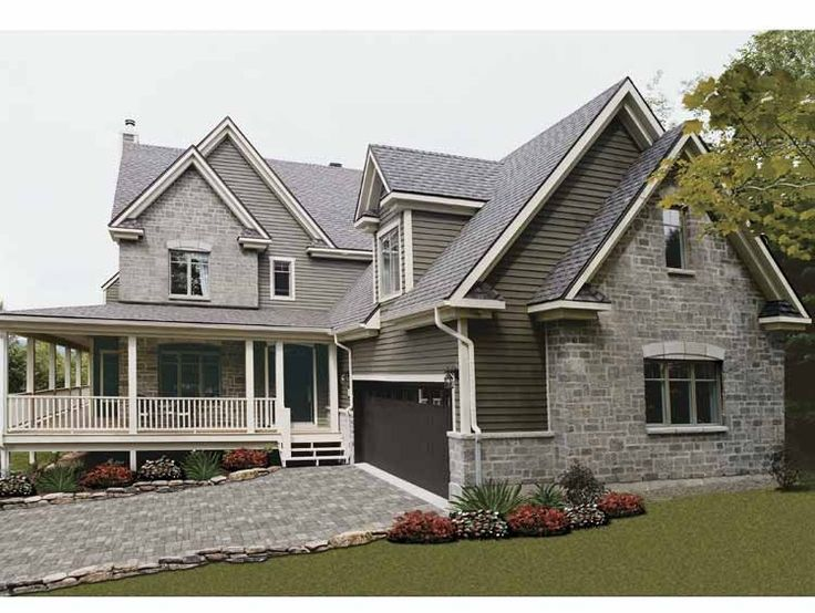 Cottage House Plan with 2376 Square Feet and 4 Bedrooms from Dream Home Source | House Plan Code DHSW42202