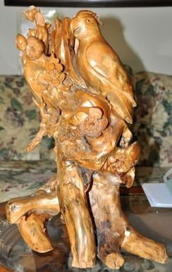 Best Sculptures Statues Carvings Images On Pinterest - This beautiful bronze sculpture has been attached to a tree since 1968