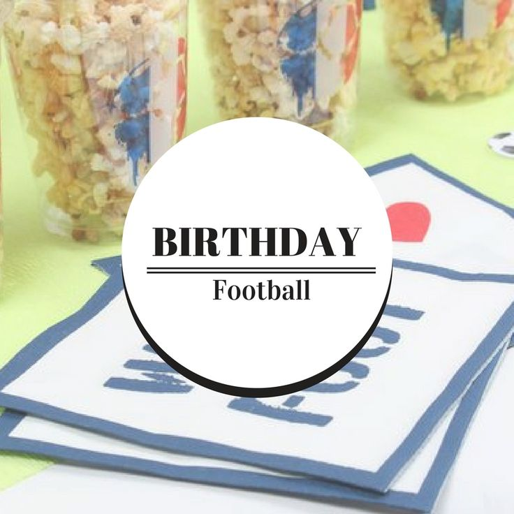 7 best BIRTHDAY   Football images on Pinterest Football parties - champignon d humidite maison