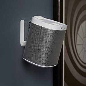 White SONOS PLAY:1 on wall-mount