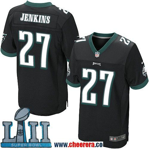 new arrival c5faf c1084 Nike Men's NFL Philadelphia Eagles 27 Malcolm Jenkins Black ...
