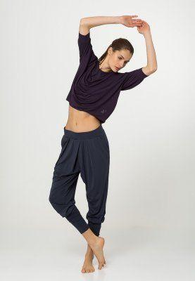 Bestill Curare Yogawear Bukser - night-blue for kr 529,00 (16.02.16) med gratis frakt på Zalando.no