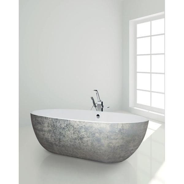 Top 25 ideas about freestanding bathtub on pinterest for Coloured free standing bath