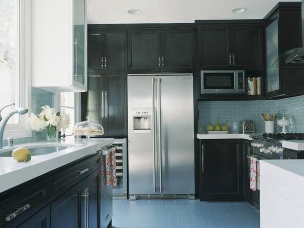 55 Best Black Kitchens Images On Pinterest | Black Kitchens, Contemporary  Unit Kitchens And Kitchen Modern