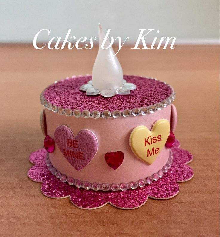 Valentines Tea Light Cake (made by Kim)