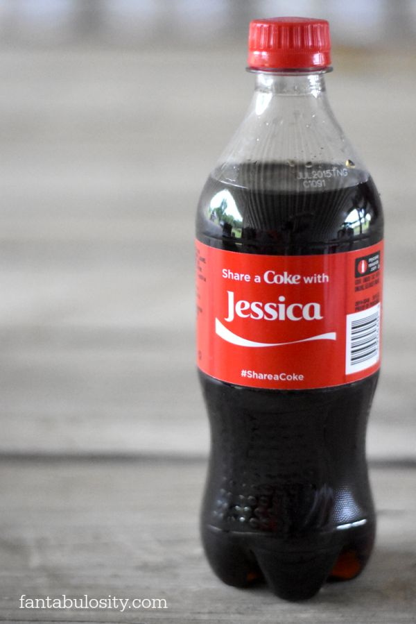 Share a Coke - Find your name on a Coke going on right now!  Jessica