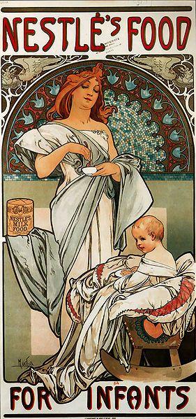 Affiche Nestlé de 1897