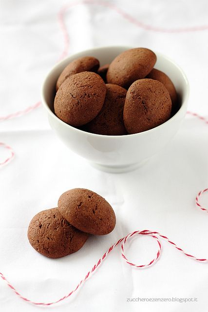Coffee and cocoa soft cookies