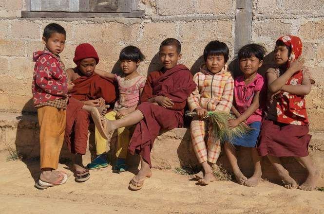 Photo Kalaw_enfants.jpg -  - GEO communauté photo, Myanmar