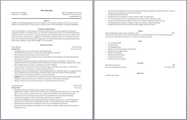 Benefits Manager Resume Manager Resume Samples Pinterest - sample zoning manager resume