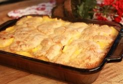 Naomi's Peach Cobbler :: Ohio Amish Country Recipes