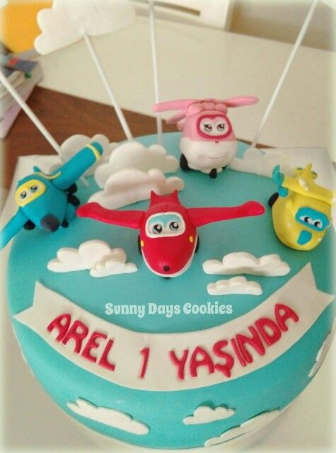 Harika Kanatlar Pasta - Super Wings Cake