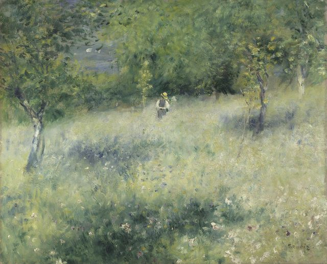 Exhibition Image Gallery - Renoir Landscapes: 1865-1883: Springtime (in Chatou), also known as Spring at Chatou, about 1875