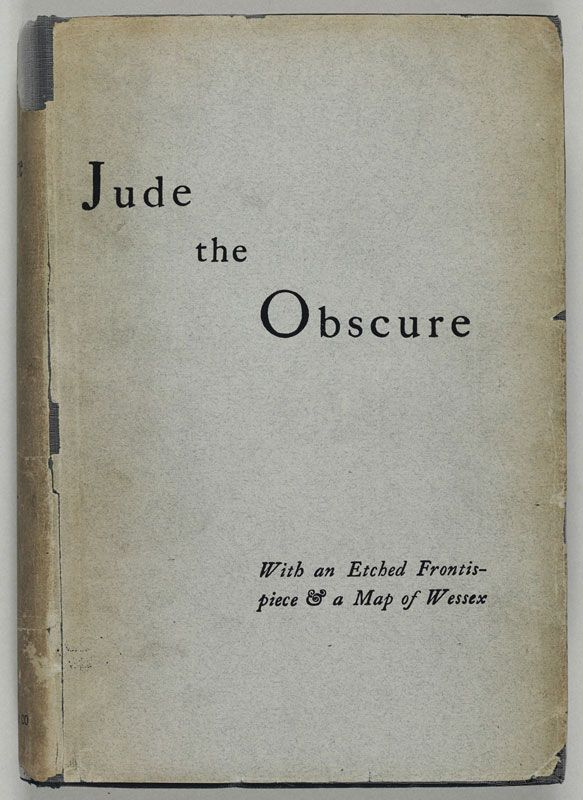 commentaire jude the obscure thomas hardy essay Thomas hardy published his fourteenth novel, jude the obscure, as a magazine  serial  with its sexual content and scathing critiques of christianity and marriage   next section jude the obscure summary buy study guide.