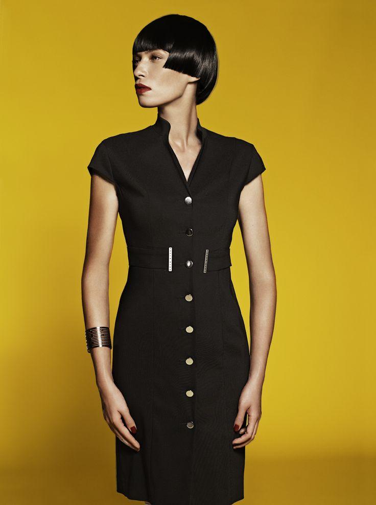 Cap Sleeve Coat Dress