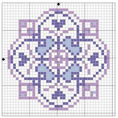 Filomena Crochet e Outros Lavores: Esquemas de biscornus.
