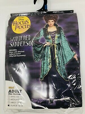 Disney Hocus Pocus Winifred Winnie Sanderson Halloween Adult Costume Size XL #af…