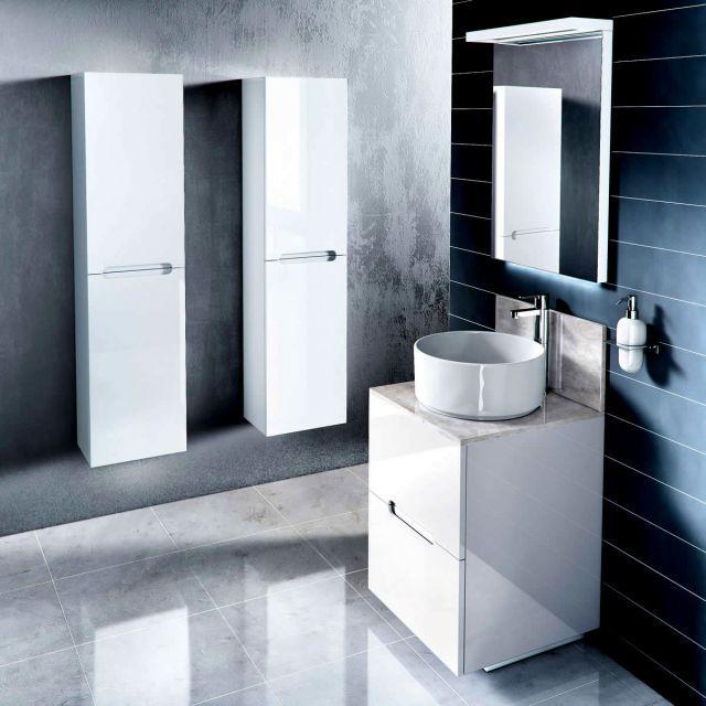 Aqua Cabinets D500 Freestanding Vanity Unit with Marble Top. 157 best Bathroom  vanity units images on Pinterest   Bathroom