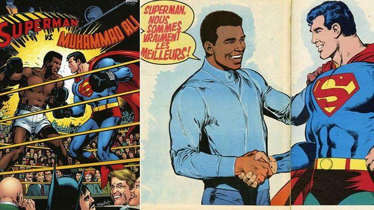 En 1978 Mohamed Ali défie Superman sur un ring. Ce combat faisait rentrer de son…
