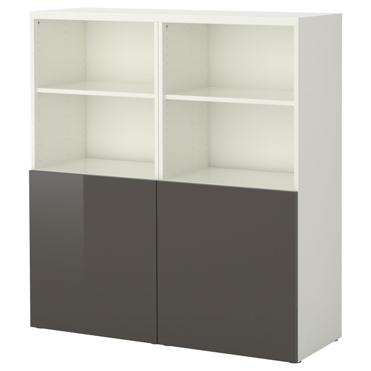 Best 197 Storage Combination With Doors White Tofta High