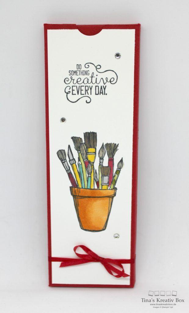 Pootler's Design Team Woche 1 – Bleistift Verpackung - mit Produktrn von Stampin' Up!