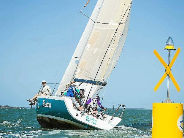 The Brisbane to Gladstone Yacht Race