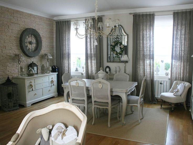 La salle à manger, élégante : Visitez la maison de Valérie - Journal des Femmes Décoration